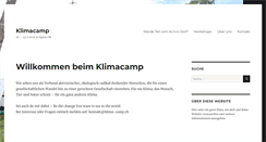 Preview of klimacamp.ch