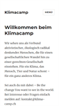 Mobile Preview of klimacamp.ch